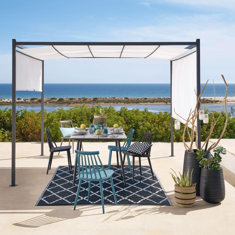 tonnelle de jardin crue h220 malaga maisons du monde. Black Bedroom Furniture Sets. Home Design Ideas