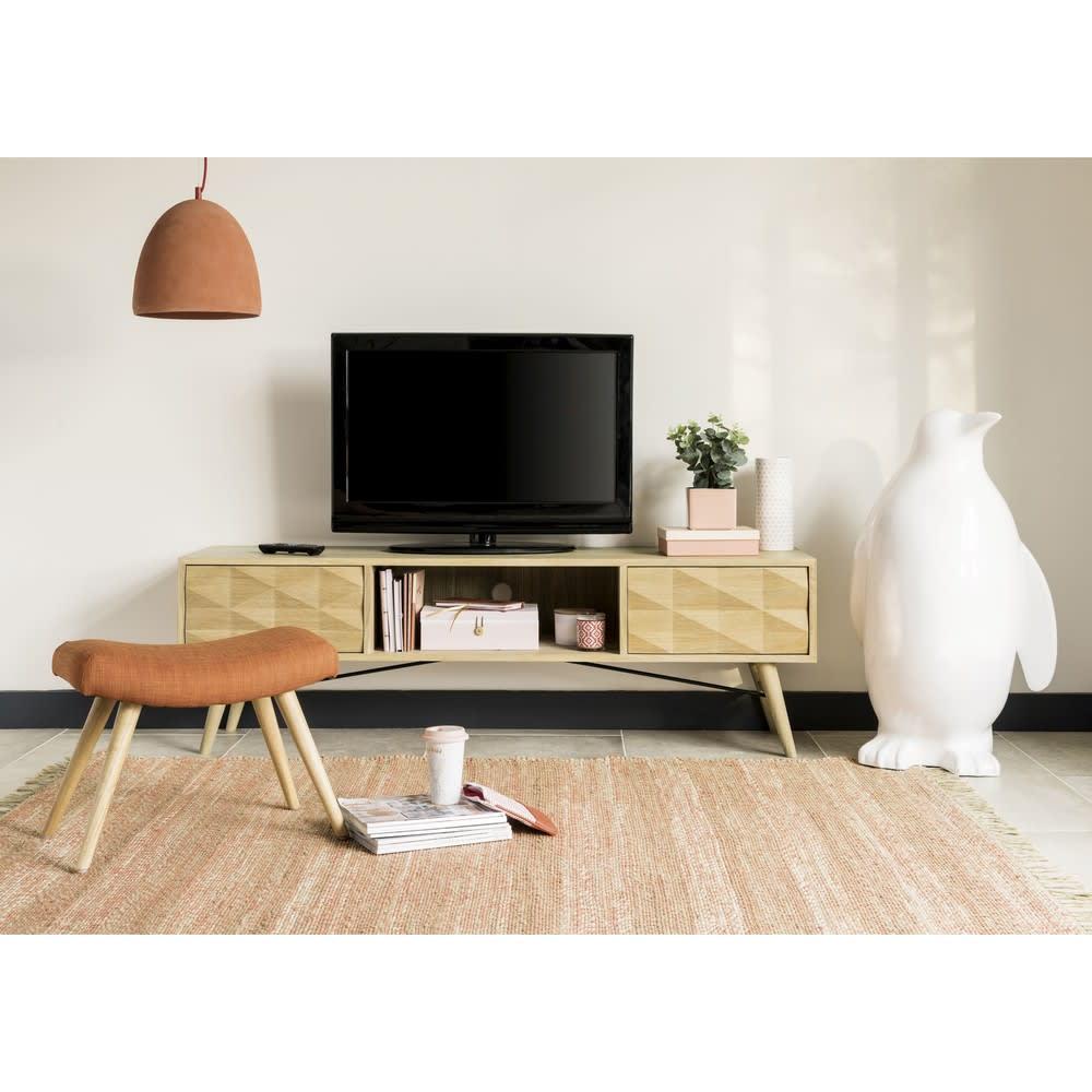 good tvmbel mit schubladen aus massiver eiche keops with tv rack eiche gallery of full size