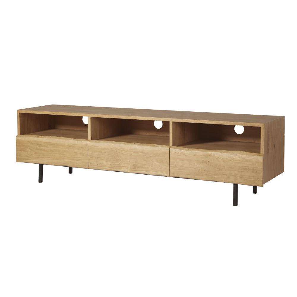 excellent tvmbel mit schubladen aus massivem eichenholz magnus with tv mobel eiche