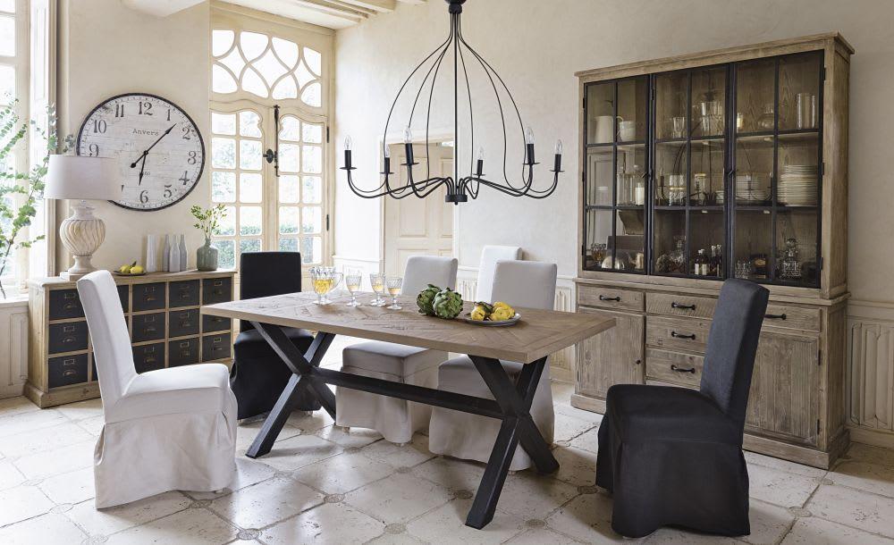 vaisselier en pin recycl copenhague maisons du monde. Black Bedroom Furniture Sets. Home Design Ideas