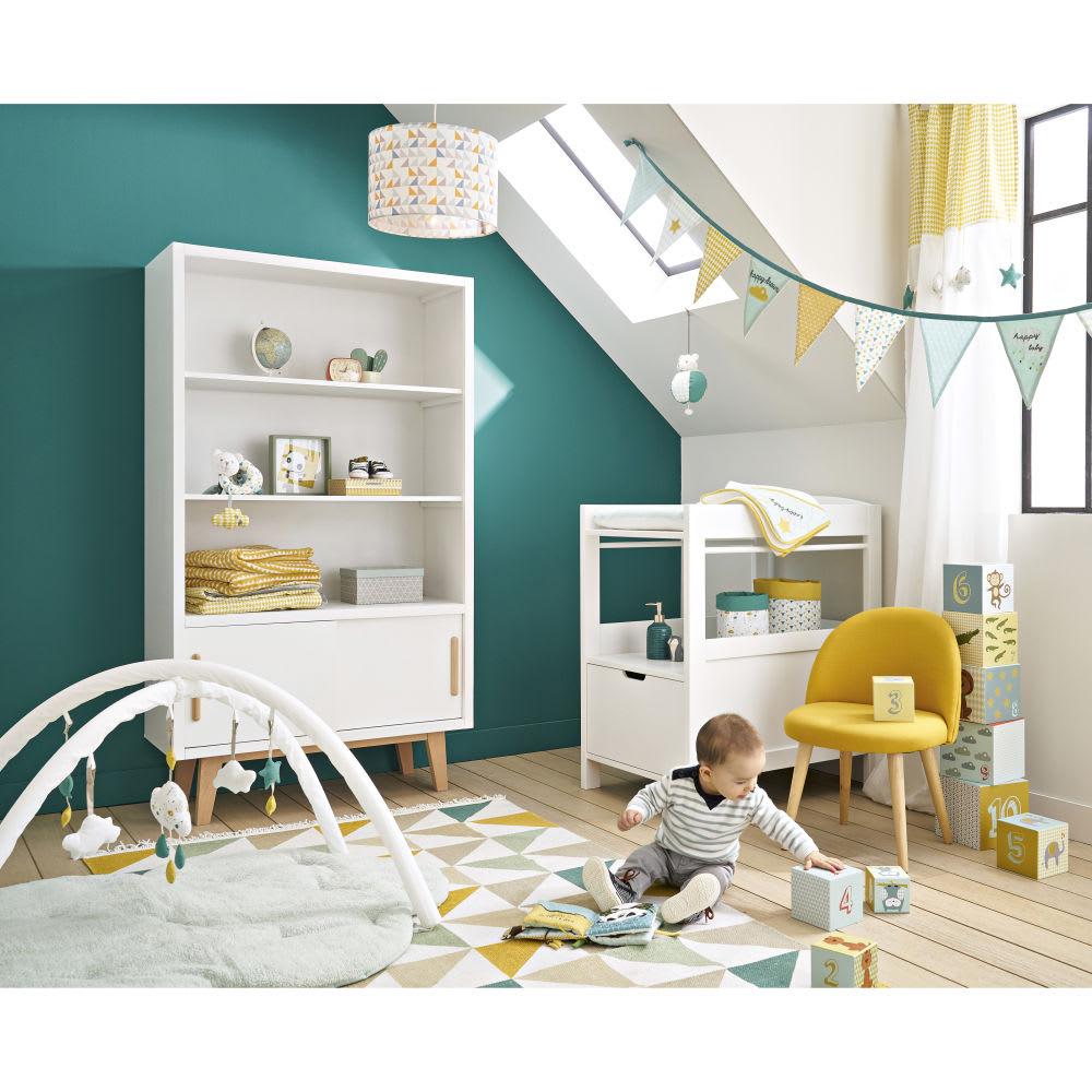 vintage b cherschrank mit 2 t ren wei sweet maisons du monde. Black Bedroom Furniture Sets. Home Design Ideas