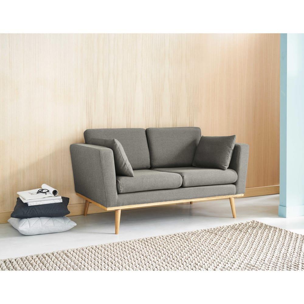 Sofas Maison Du Monde : vintage sofa 2 sitzer grau timeo maisons du monde ~ Watch28wear.com Haus und Dekorationen
