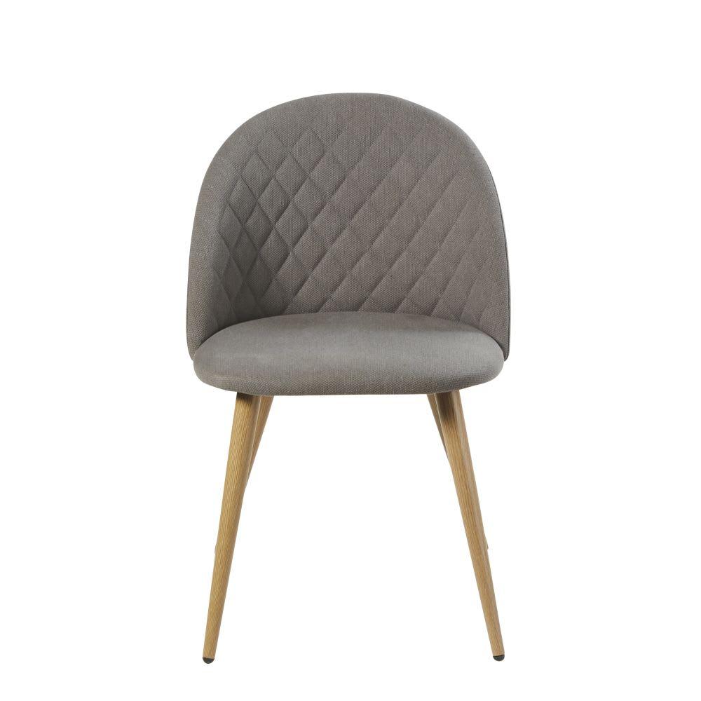 vintage stuhl grau mauricette maisons du monde. Black Bedroom Furniture Sets. Home Design Ideas