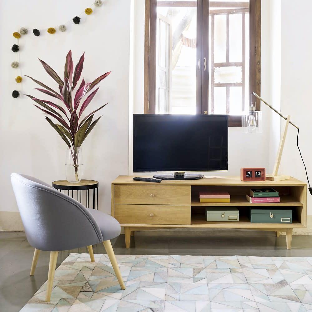 Vintage Tv Möbel Mit 2 Schubladen Maisons Du Monde