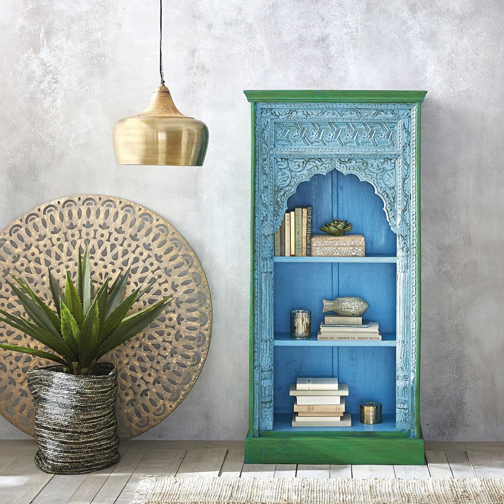 wanddeko mit lochmuster aus metall goldfarben d120 puebla. Black Bedroom Furniture Sets. Home Design Ideas