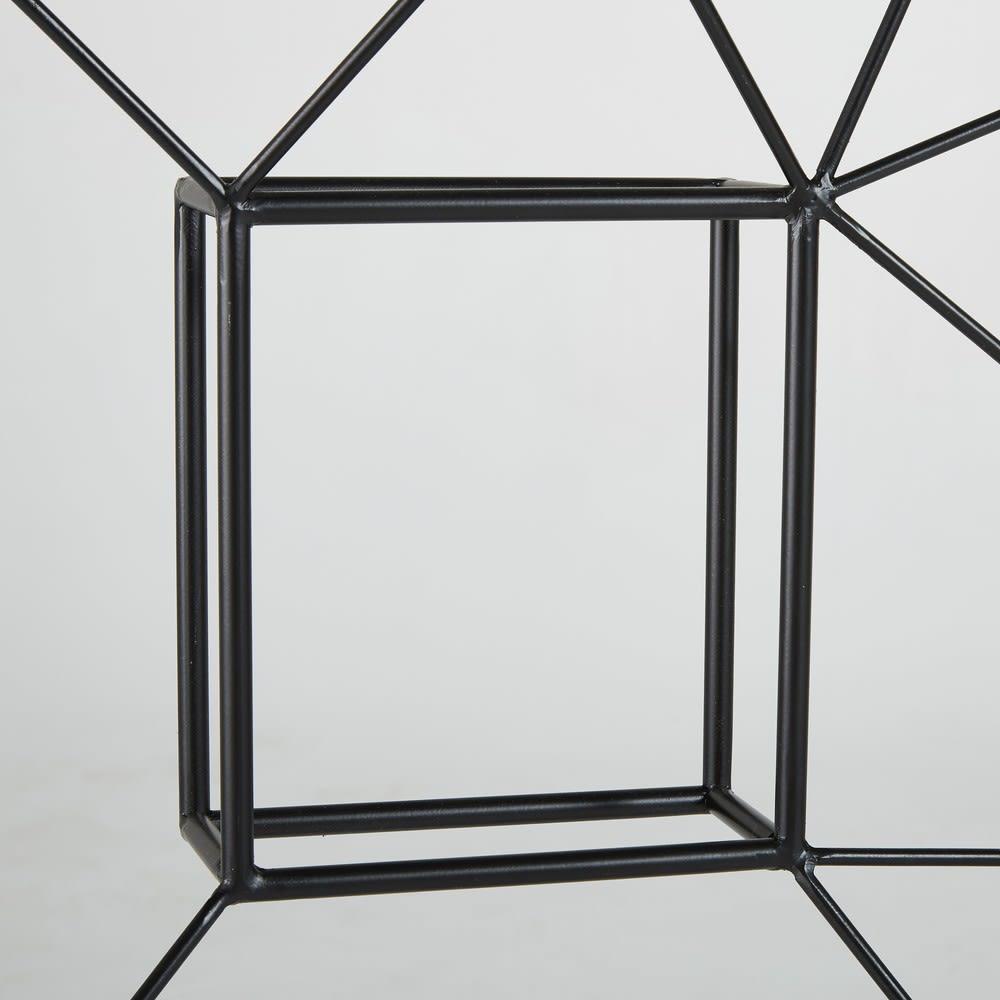 wanddeko schriftzug rock aus metall 255x92 elton maisons. Black Bedroom Furniture Sets. Home Design Ideas