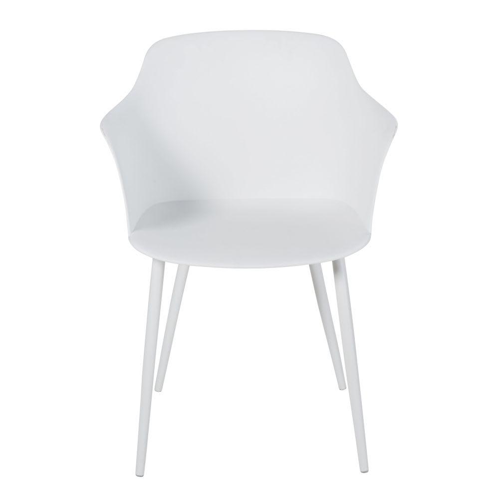 Weißer Sessel Mit Metall Will Maisons Du Monde