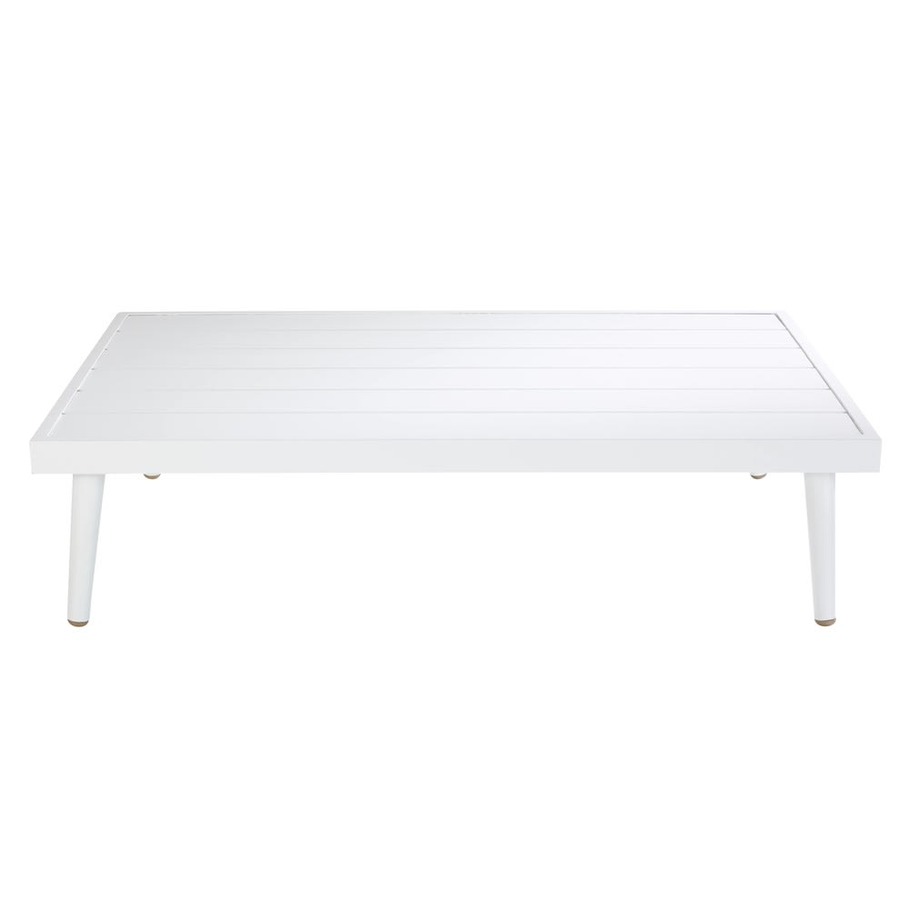 White Aluminium Garden Coffee Table