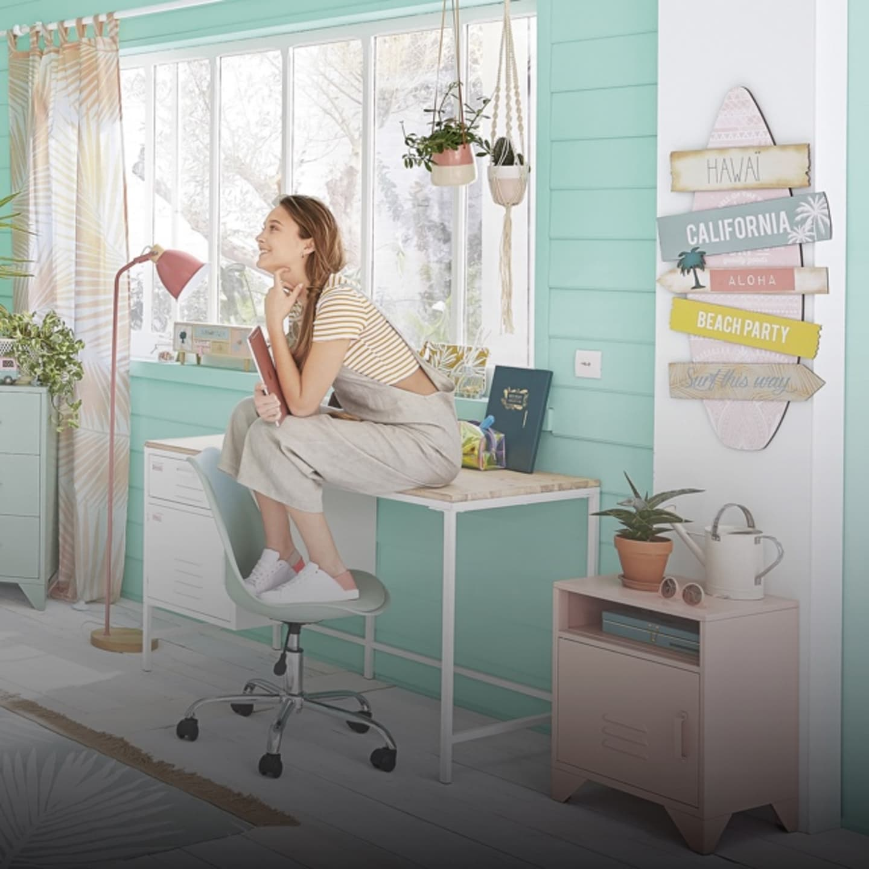 Modele Chambre Fille Ado mobilier & déco, bébé, enfant, ado | maisons du monde