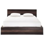 Bett im exotischen Stil aus massivem Mangoholz, 160 x 200
