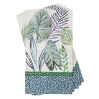 12 serviettes en papier imprimé 33x40