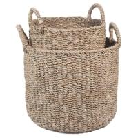 2 cestas trenzadas Manaquiri