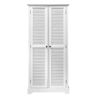 2-deurs witte garderobekast Barbade