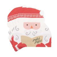 Lotto di 3 - 20 tovaglioli di carta Babbo Natale