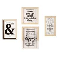 4 Pine Frames Philosophy Joy