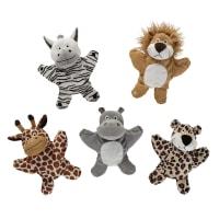 5 marionnettes animaux Savane