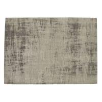 FEEL - Alfombra gris de algodón 140x 200cm