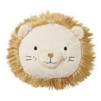 MINI JUNGLE - Almofada cabeça de leão diâmetro 30