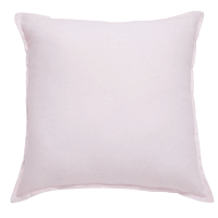 Antique Pink Washed Linen Cushion 45x45