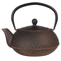 PICCADILLY - Antiqued black cast iron teapot 0.9L