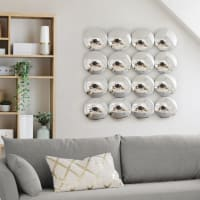 Arrangement of 16 Convex Mirrors 100x100 Maddie