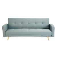 Ausziehbares 3-Sitzer-Sofa, wassergrün Broadway