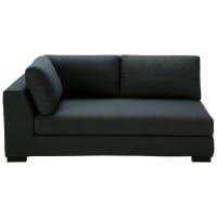 Ausziehbares modulares Sofa, Armlehne links, anthrazitgrau Terence