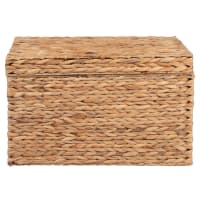 BANDUNG - Baule in fibra vegetale, 55x30x36 cm