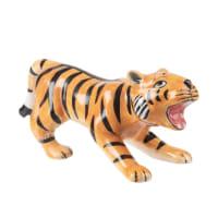 Beeldje van tijger in dolomiet H6 Rangoun