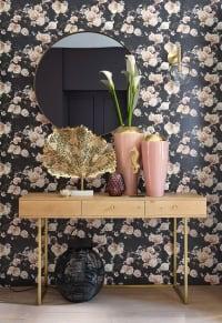Behangpapier met bloemenmotief 48x800 Flora