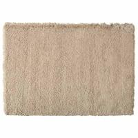 Beige langharig tapijt 140x200 Inuit
