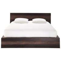 Bett im exotischen Stil aus massivem Mangoholz, 160 x 200 Java