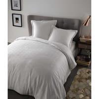 Bettwäschegarnitur  aus Baumwolle, 220x240, weiß Chloé