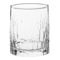 Lotto di 6 - Bicchiere in vetro martellato
