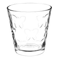Bicchiere in vetro Papillon
