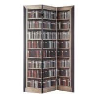 Biombo estampado de madera An. 120 cm Shakespeare