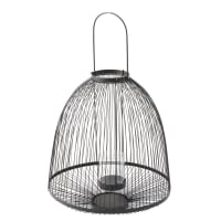 Black Wire Lantern Cali