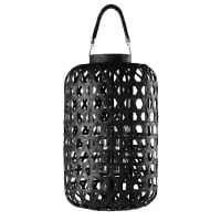 Black woven lantern Kumasi