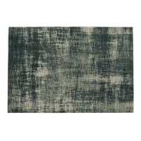 Blauw katoenen tapijt 155 x 230 cm Feel Azur