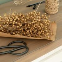 LINO - Bouquet de lino séché marron