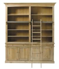Bücherregal aus massiver Eiche Atelier
