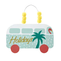 Bus Wall Hanging 22 x 23 Tropicool