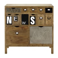 Cabinet de rangement en sapin News