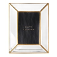 MAYSSA - Cadre photo en métal et verre 10x15