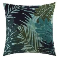 cushion plant print 45 x 45cm Canopée