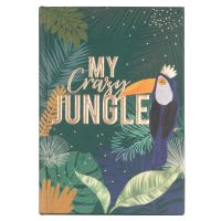 Carnet de notes imprimé exotique Jungle