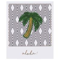 Carte graphique imprimé palmier Palmier