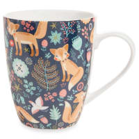 China Cup with Fox Print