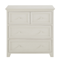 Commode 4 tiroirs taupe  St Honoré
