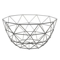 Copa de metal negra D. 27 cm Graphique